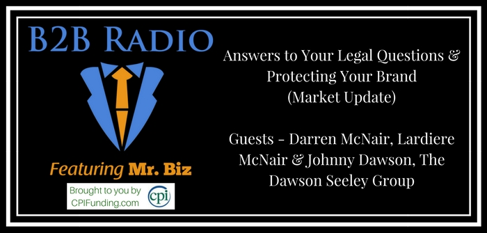 Answers to Your Legal Questions & Protecting Your Brand (Market Update)